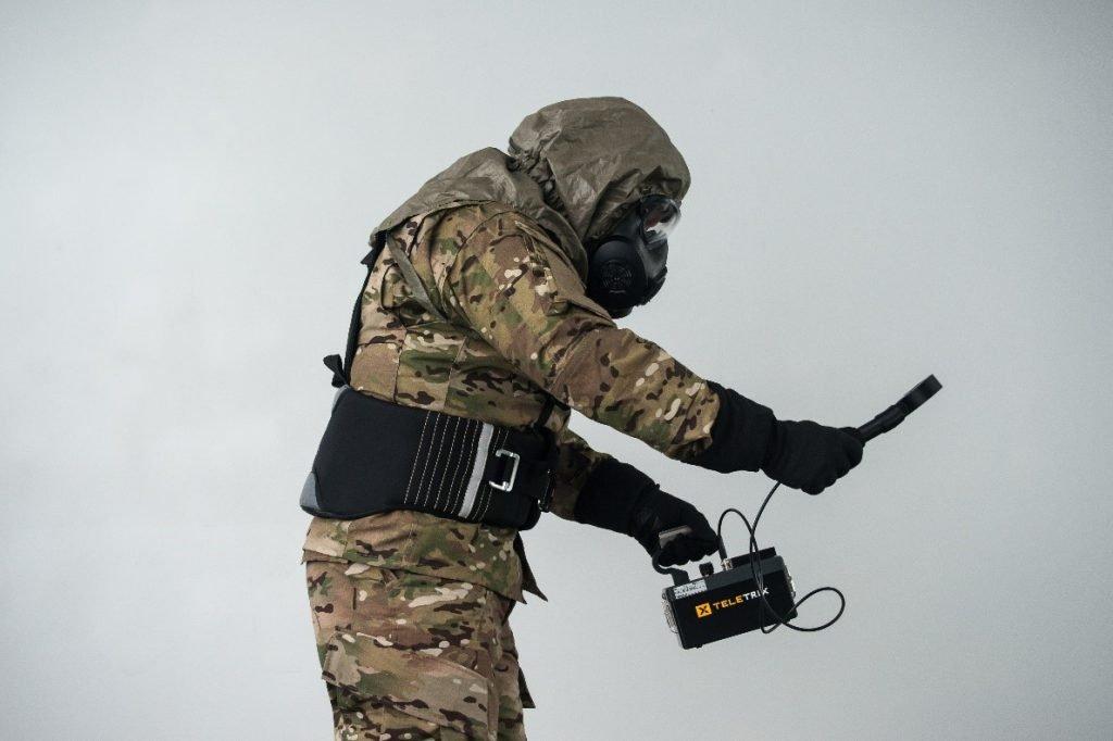 stemrad 360 gamma radiation protection shield